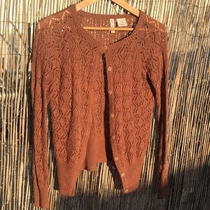 Knitted cute cardigan